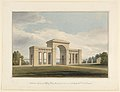 Drawing, Entrance gateway to Willey Park, Shropshire, 1825 (CH 18436113).jpg