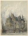 Drawing, Hotel de Sens, Paris, 1888 (CH 18606071-2).jpg