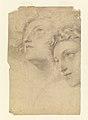 Drawing, Two Female Heads, 1886–92 (CH 18439635).jpg