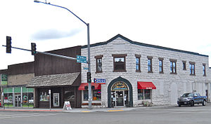 Driggs, Idaho - Image: Driggs Corner Drug Store