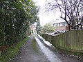 Drive behind houses on Ashurst Road - geograph.org.uk - 320067.jpg