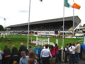 RDS Arena - RDS hosting the Dublin Horse Show