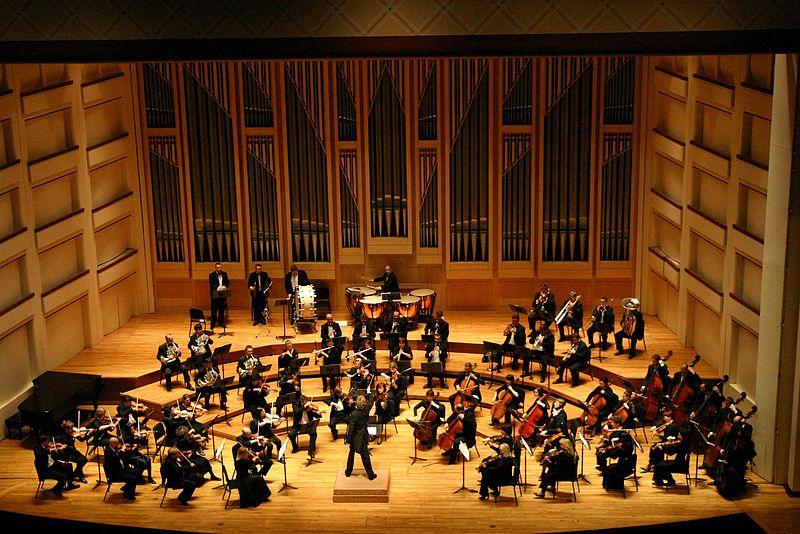 Dublin Philharmonic Orchestra performing Tchaikovsky%27s Symphony No 4 in Charlotte, North Carolina.jpg