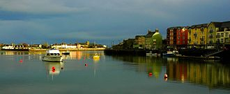 Dungarvan - Image: Dungarvan ireland harbour