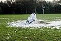 Dying Snowman at Herbert Park, Ballsbridge, Dublin (5261974866).jpg