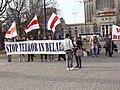 Dzień Solidarności z Białorusią - marzec 2011 2.JPG