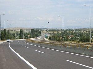 E65 Skopje Northern Bypass 1