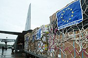 The EU is the largest contributor of aid in the world.