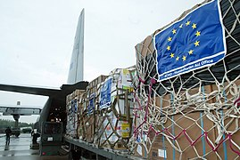 If considered collectively, EU member states are the largest contributor of foreign aid in the world.[184][185]