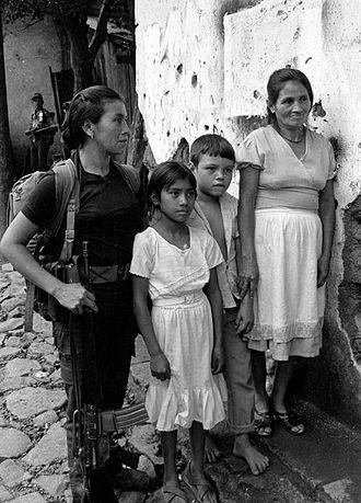 Salvadoran Civil War - ERP combatant Perquín 1990
