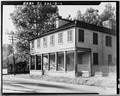 EXTERIOR, FROM SIDE - Buck Tavern, 401 Main Street, Columbia, Monroe County, IL HABS ILL,67-COLUM,3-4.tif