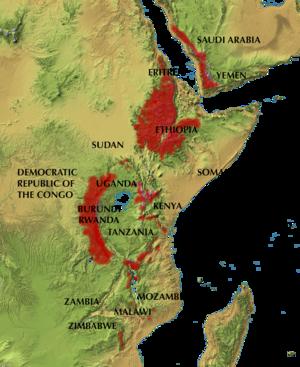 Afromontane - Eastern Afromontane Biodiversity Hotspots