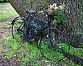 Easton Lodge Gardens, Little Easton, Essex, England ~ café bicycle sign.jpg