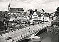 Eberhardsbrücke mit Mühlstraße (AK 541C37 Gebr. Metz 1955).jpg
