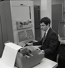 Ed Fredkin working on PDP-1.jpg