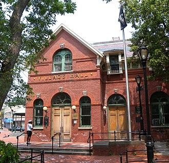 Stapleton, Staten Island - Former Edgewater Village Hall
