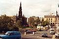 Edinburgh, Waverley Bridge, September 1992.jpg