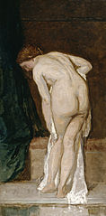 Female Nude or After the bath