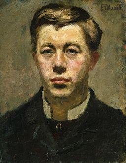 Edvard Munch - Thorvald Torgersen (1882)