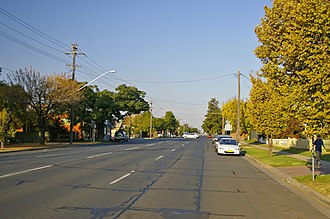 Sturt Highway - Image: Edward Street (Sturt Highway) Wagga