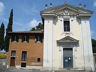 Santa Maria in Palmis Small church southeast of Rome, Italy