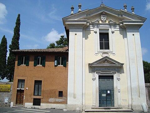 Eglise Domine Quo Vadis de Rome
