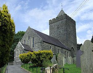 Llanddewi Brefi - St. David's church