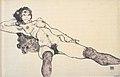 Egon Schiele - Liegender weiblicher Akt mit gespreizten Beinen - 1914.jpeg