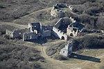 Egri vár (Pilis), légi fotó.jpg