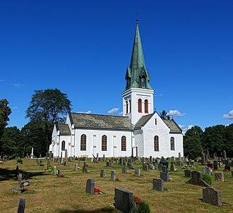 Eidsvoll Church - Image: Eidsvoll kirke 2018