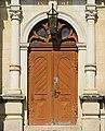 Eingangstür. Ev.-Luth.Kirche in Elterlein. Sachsen 2H1A1838WI.jpg