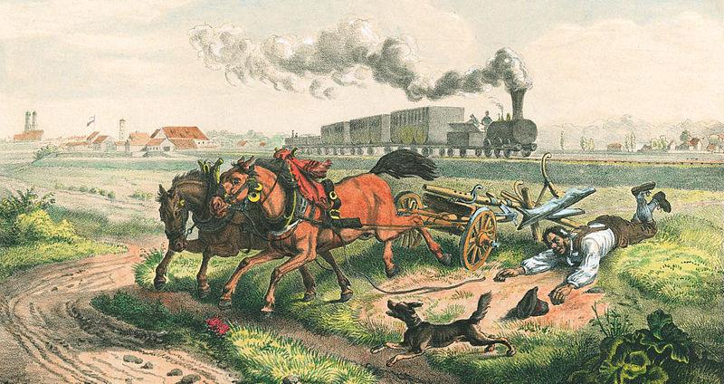 Datei:Eisenbahn als Bauernschreck.jpg