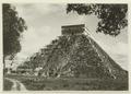 El Castillo , den centrala pyramiden - SMVK - 0307.f.0009.tif