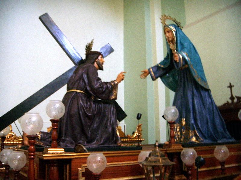 Archivo:El Encuentro, de José Lamiel.JPG