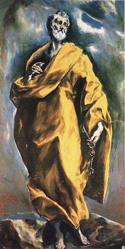 San Pedro El Greco Wikipedia La Enciclopedia Libre
