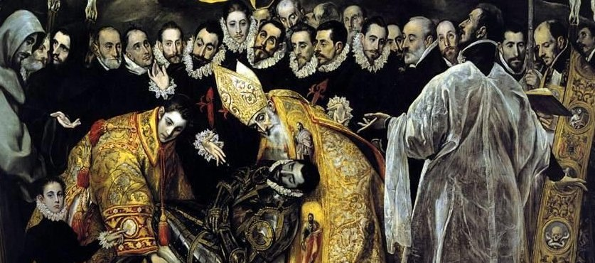 El Greco - The Burial of the Count of Orgazdetal1