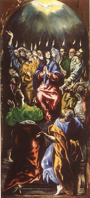 Catholic Charismatic Renewal - Pentecost by El Greco