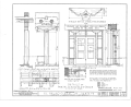 El Palacio Real de Santa Fe, Palace Avenue, Santa Fe, Santa Fe County, NM HABS NM,25-SANFE,2- (sheet 16 of 26).png