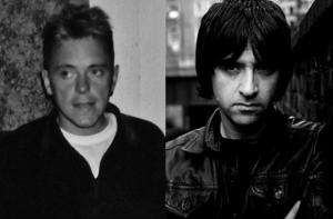 Electronic (band) - Bernard Sumner (left) and Johnny Marr (right) of Electronic