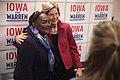 Elizabeth Warren with supporter (49406933752).jpg