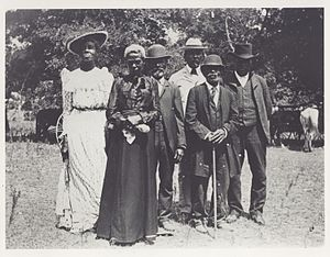 Juneteenth - Juneteenth celebration in Austin, Texas, on June 19, 1900