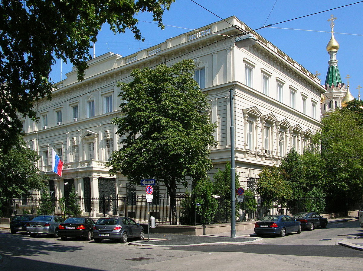 And The embassy of the russian that