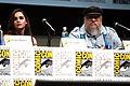 Emilia Clarke & George R. R. Martin (2013 Comic-Con).jpg
