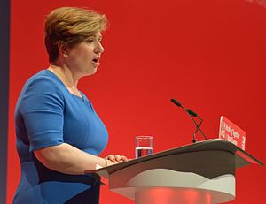 Emily Thornberry - Thornberry giving her Shadow Foreign Secretary speech at the 2016 Labour Party Conference