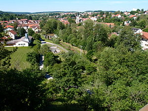 Emskirchen - Image: Emskirchen Bruecke