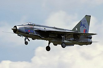 English Electric Lightning - Lightning F.3 on approach