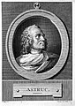 Engraving; portrait of J. Astruc; by L. Wellcome L0004881.jpg