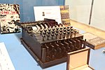 Enigma machine in Museum of Technology in Warsaw (1).jpg