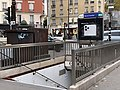Entrée Station Métro Marcel Sembat Boulogne Billancourt 5.jpg