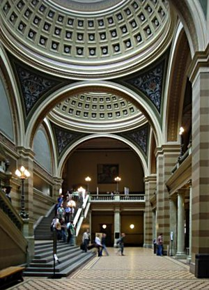 University Hall (Uppsala University) - Entrance hall
